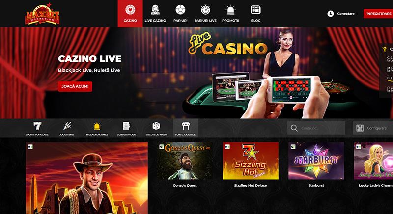 Oferta cazino MaxBet