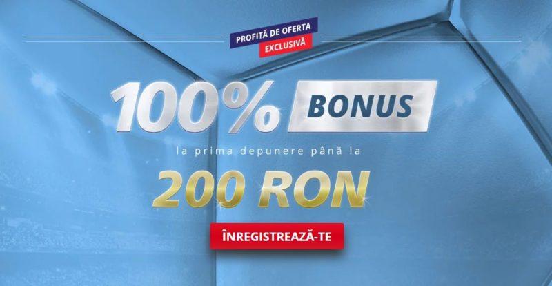 Noii clienți primesc până la 200 RON bonus de bun venit