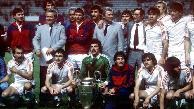 Steaua, castigatoarea Cupei Campionilor Europeni (1986)